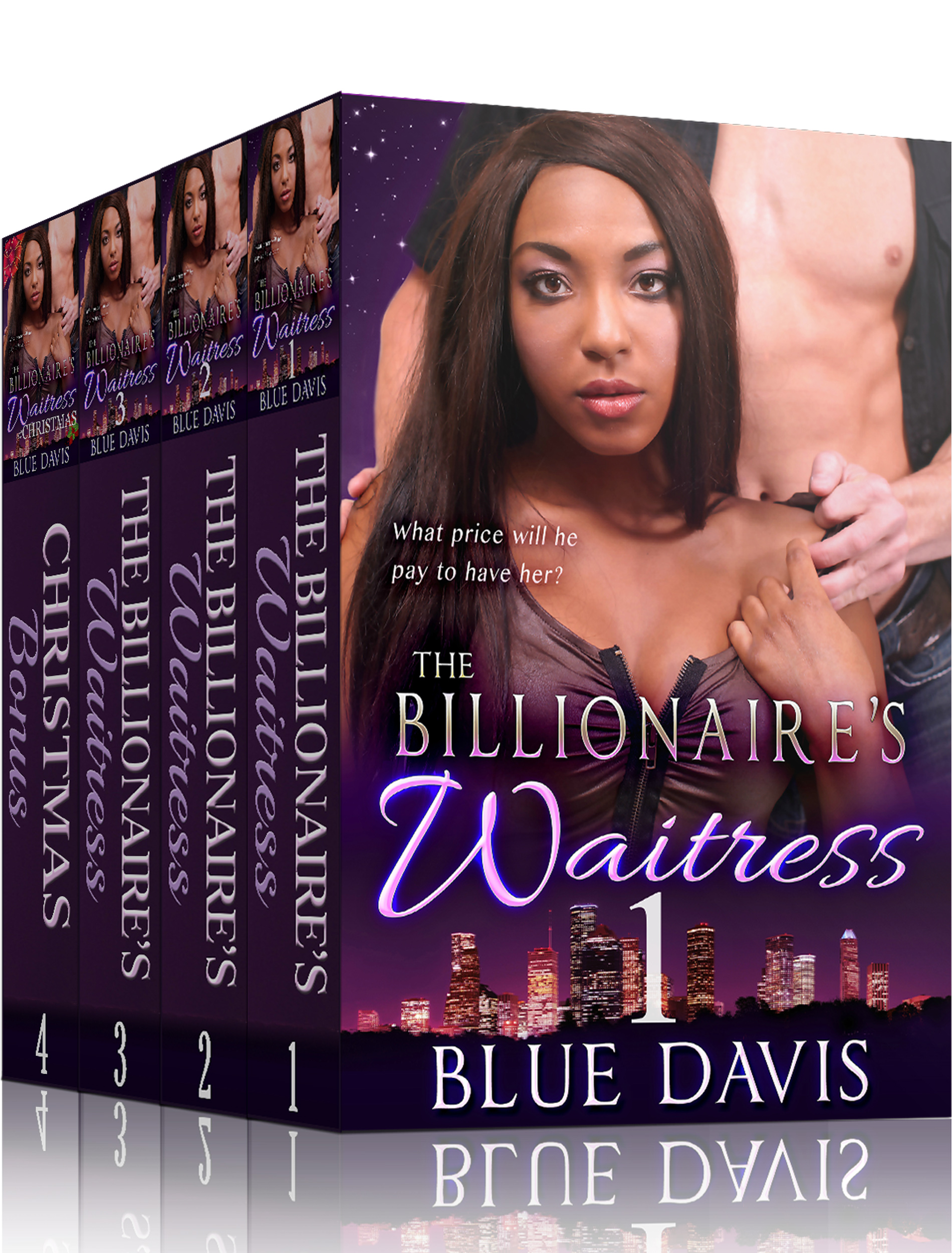 Billionaire Waitress Box Set